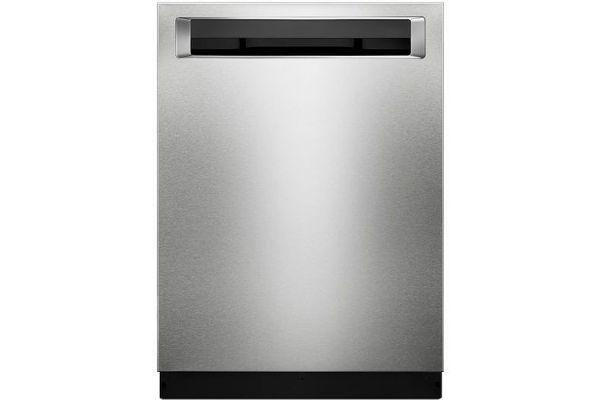 "KitchenAid 24"" PrintShield Stainless Steel Built-In Dishwasher - KDPE234GPS"