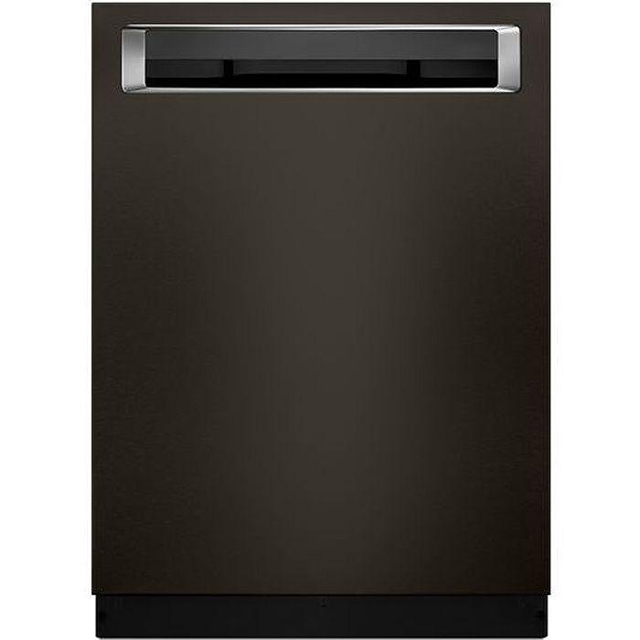 Kitchenaid Black Steel: KitchenAid Black Stainless Steel Dishwasher