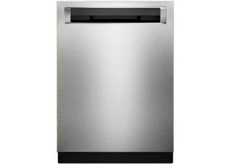 """KitchenAid 24"""" PrintShield Stainless Steel Built-In Dishwasher - KDPM354GPS"""