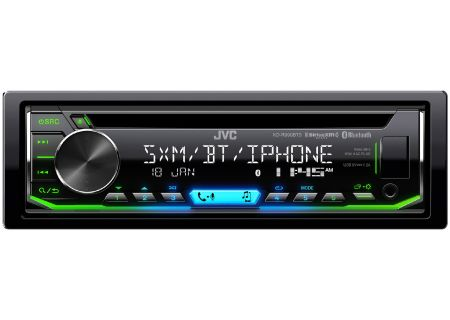 JVC Single DIN CD Receiver With Bluetooth - KD-R990BTS
