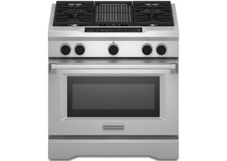 KitchenAid - KDRS462VSS - Dual Fuel Ranges