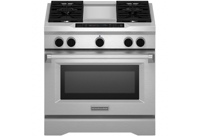 KitchenAid - KDRS463VSS - Dual Fuel Ranges