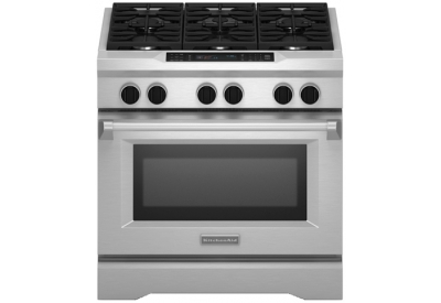 KitchenAid - KDRS467VSS  - Dual Fuel Ranges