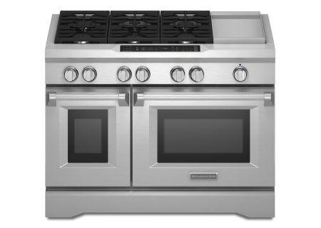 KitchenAid - KDRS483VSS - Dual Fuel Ranges