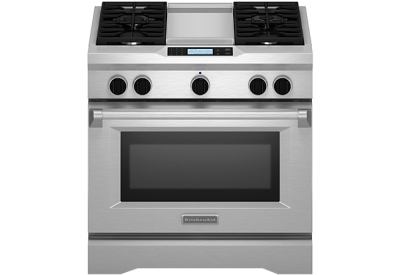 KitchenAid - KDRU763VSS - Dual Fuel Ranges