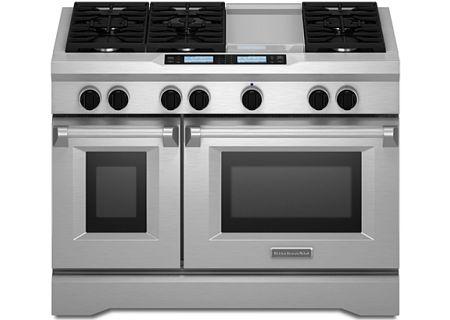 KitchenAid - KDRU783VSS - Dual Fuel Ranges