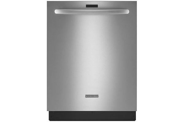 "Large image of KitchenAid 24"" Architect Series II Stainless Steel Built-In Dishwasher - KDTM354DSS"