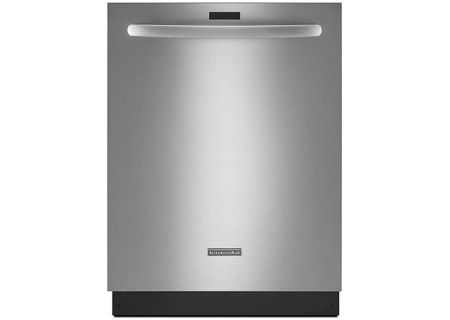 "KitchenAid 24"" Architect Series II Stainless Steel Built-In Dishwasher - KDTM354DSS"