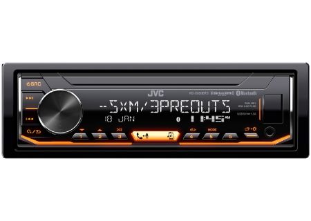 JVC - KD-X350BTS - Car Stereos - Single DIN