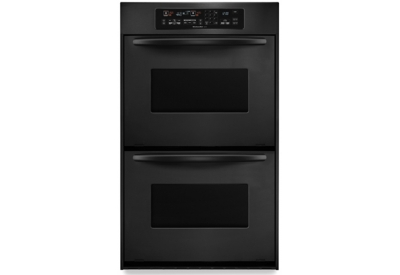 KitchenAid - KEBC247VBL - Double Wall Ovens