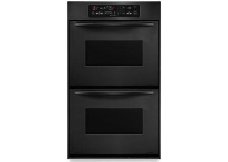 KitchenAid - KEBC247VBL - Double Wall Ovens