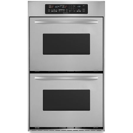 Kitchenaid 24 Quot Stainless Electric Double Oven Kebc247vss