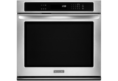KitchenAid - KEBK101BSS - Single Wall Ovens