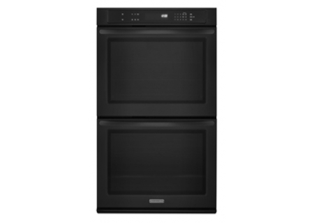 KitchenAid - KEBK206BBL - Double Wall Ovens