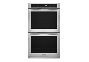 KitchenAid - KEBK206BSS - Built-In Double Electric Ovens