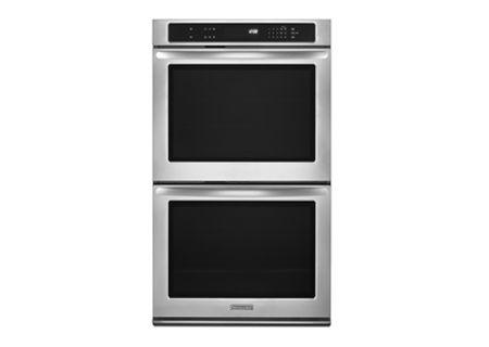 KitchenAid - KEBK206BSS - Double Wall Ovens