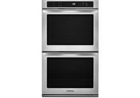 KitchenAid - KEBK276BSS - Built-In Double Electric Ovens