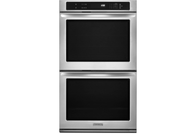 KitchenAid - KEBK276BSS - Double Wall Ovens