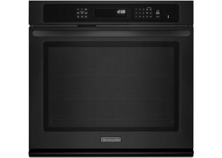 KitchenAid - KEBS109BBL - Single Wall Ovens