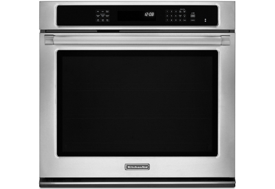 KitchenAid - KEBS109BSP - Single Wall Ovens