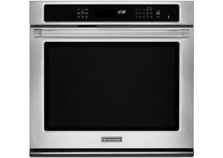 KitchenAid - KEBS109BSP - Single Wall Ovens