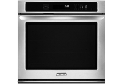 KitchenAid - KEBS109BSS - Single Wall Ovens