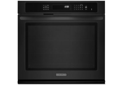 KitchenAid - KEBS179BBL - Single Wall Ovens