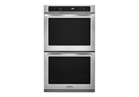 KitchenAid - KEBS207BSS - Built-In Double Electric Ovens