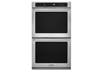 KitchenAid - KEBS209BSP - Double Wall Ovens