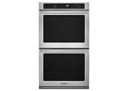 KitchenAid - KEBS209BSP - Double Wall Ovens