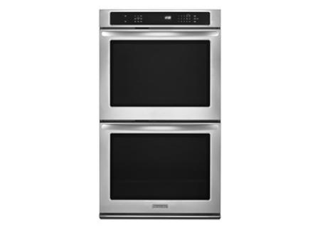 KitchenAid - KEBS209BSS - Double Wall Ovens