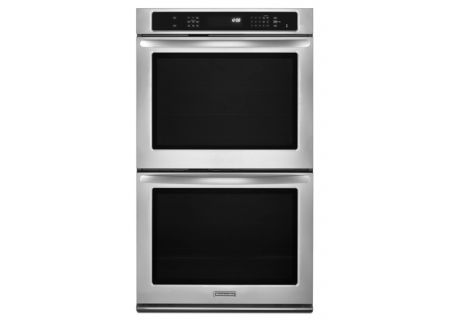 KitchenAid - KEBS277BSS - Double Wall Ovens
