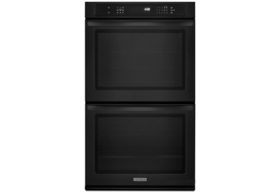 KitchenAid - KEBS279BBK - Double Wall Ovens