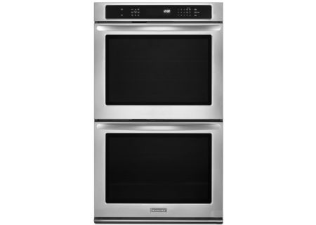 KitchenAid - KEBS279BSS - Double Wall Ovens