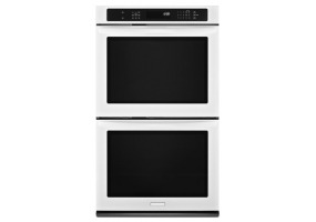KitchenAid - KEBS279BWH - Built-In Double Electric Ovens