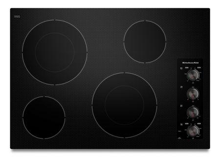 KitchenAid - KECC602BBL - Electric Cooktops