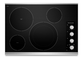 KitchenAid - KECC604BSS - Electric Cooktops