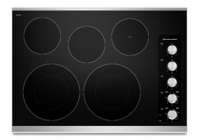 KitchenAid - KECC605BSS - Electric Cooktops