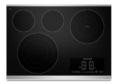 KitchenAid - KECC607BSS  - Electric Cooktops