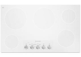 KitchenAid - KECC662BPW - Electric Cooktops