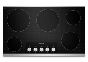 KitchenAid - KECC662BSS - Electric Cooktops