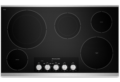 KitchenAid - KECC664BSS - Electric Cooktops