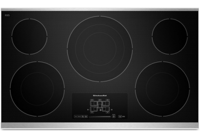 KitchenAid - KECC667BSS - Electric Cooktops