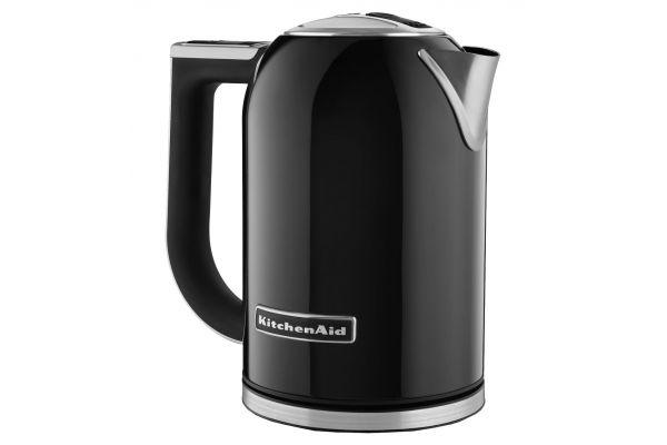 Large image of KitchenAid Black Electric Kettle - KEK1722OB