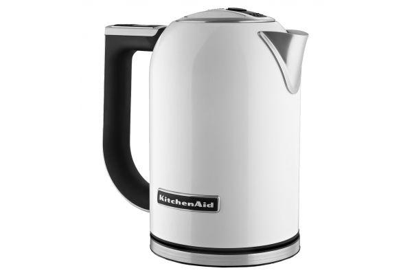 Large image of KitchenAid White Electric Kettle  - KEK1722WH