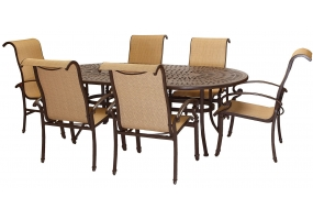Hanover - KERRINGTON7PC - Patio Furniture
