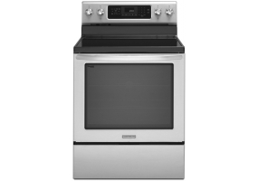 KitchenAid - KERS202BSS - Free Standing Electric Ranges