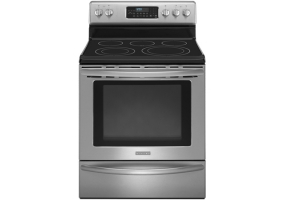 KitchenAid - KERS206SS - Free Standing Electric Ranges