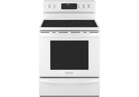 KitchenAid - KERS206WH - Free Standing Electric Ranges