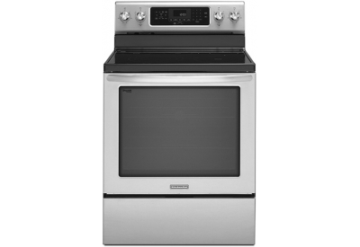 KitchenAid - KERS303BSS - Electric Ranges